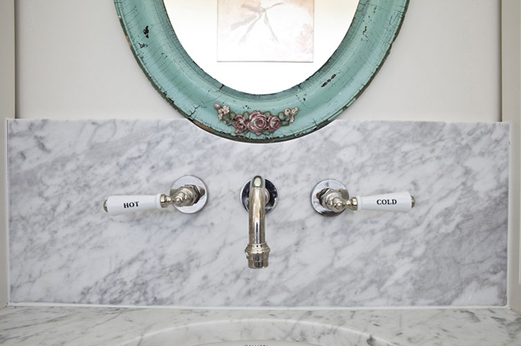 Turquoise Bathroom Mirror