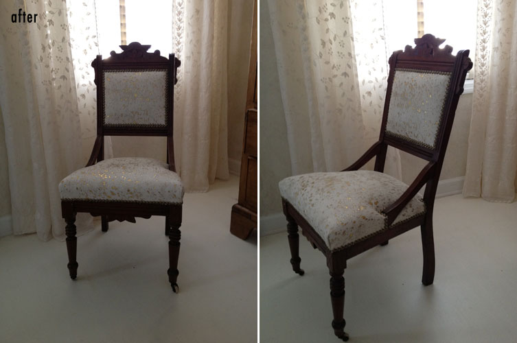 Vintage Chair - Eastlake Chairs Jolene Smith Interiors
