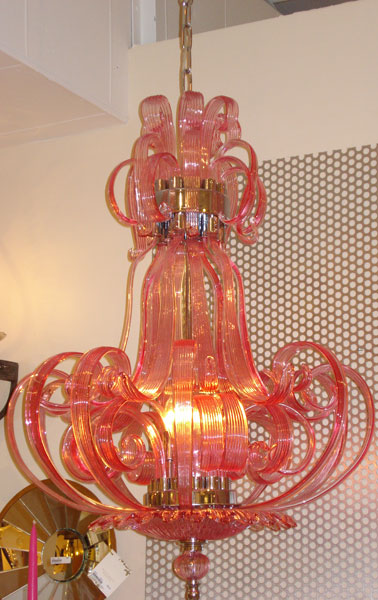 Watermelon chandelier
